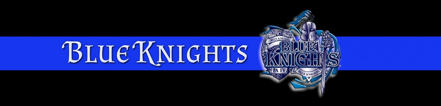 Blue Knights Banner